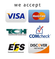 Glen Towing Roadside Assistance credit cards accepted