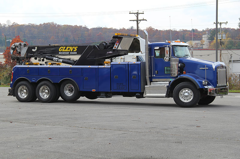 Glen Towing Roadside Assistance Commercial Tow Truck
