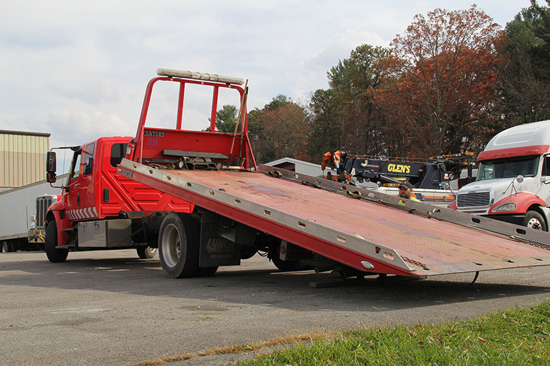 Glen Towing Roadside Assistance Flat Bed